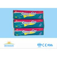 Hypoallergenic Maternity Sanitary Pads With Wings For Night Use , CE ISO Listed
