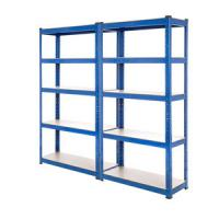 Quality Wide Span Warehouse Storage Racks Q235 Material 5 Steel Panels Blue Color for sale