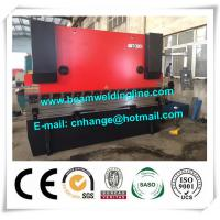 China WC67Y Sheet Metal Press Brake , 80 Tons NC Press Brake For Steel Plate on sale