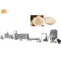 China Vegetarian Food Dried Baby Food Cereal Powder Porridge Making Machine Supplier on sale