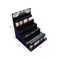 Buy Multi - Layer Acrylic Nail Polish Display Stand Gloss Black Assemblied at wholesale prices