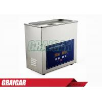 Buy Optical Industry Desktop Ultrasonic Cleaning Machines Numerical Control at wholesale prices