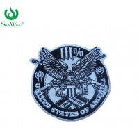 Quality Safety Stick On Custom Police Patches Smooth Badge Beautiful Design for sale