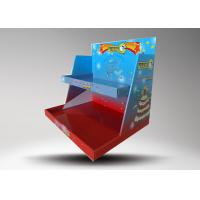 Quality Custom logo Colorful Retail Display Stands / Candle Display Racks With 2 Tiers for sale