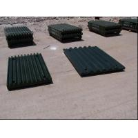Quality Steel Jaw Plates Spare Crusher Wear Parts For Jaw Crushers More than 50HRC for sale