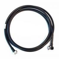 Quality 3m 1 / 2 ″ S RF Feeder Cable By DIN Male To DIN Male Right Angle 500 Cycles for sale