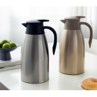 Quality 2000ml BSCI Stainless Steel Vacuum Insulated Teapot for sale
