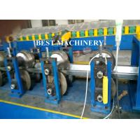 Buy Half Round Water down Gutter Profile Cold Roll Forming Machine at wholesale prices