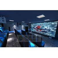 Quality Cinema House 4D Movie Theater Electronic System Simulation Rides 50 People for sale