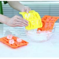 China 26 Letters Design Rubber Ice Cube Tray , Flexible Ice Cube Trays Healthy on sale