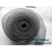 Quality Stainless Steel/Nickel/Monel Wire, 140-400 Model, 0.1-0.3mm Wire Knittted Wire Mesh for sale