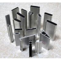 China Rectangular Extruded Aluminum Window Frame 6000mm / 3000mm For Construction on sale