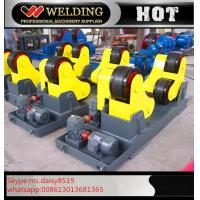 Quality Automatic Vessel Welding Pipe Welding Rotator With PU Rubber Roller 15000kg for sale