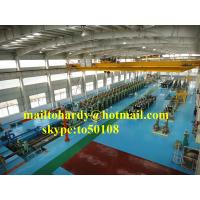 China Steel pile sheet cold forming production line, piling sheet production line on sale