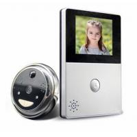 Quality 2.8 Inch LCD Monitor Peephole Wireless Video Doorbell With RTOS Operating Systems for sale