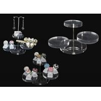 Quality Acrylic magazine display , clear round acrylic accessories display for sale