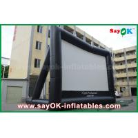 Giant 10 mL x 7 mH Projection Cloth Inflatable TV Screen CE / SGS Certificate