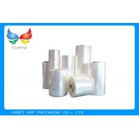 Quality 78% Clear BOPETG Thermal Heat Activated Shrink Film For Shrink Sleeve Applications for sale