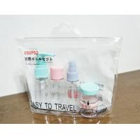 Buy Simple Reusable Ziplock Bags , Clear Vinyl Make-up Organizer Pouch with Ziplock at wholesale prices