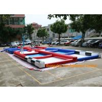 Quality PVC Tarpaulin Inflatable Zorb Rump Outdoor Race Track With Digital Printing for sale