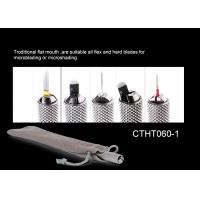 China Multifunction SS Autoclave Universal Microblading Manual Holder  for PMU Or Tattoo WIth Bevel Blade on sale