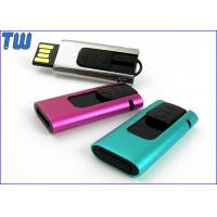 Quality Slide Type USB Pen Thumb Drive 4GB Rectangle Design Curved Edge for sale