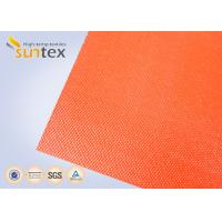 Quality Suntex High  Silicone Rubber Coated Fiberglass Fabric 2 Sides Coating Heat Resistant Material for sale