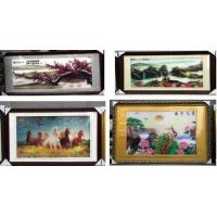 China lenticular image printing 3D Lenticular Billboard Vertical Stereoscopic produced by OK3D leticular printing facotry on sale