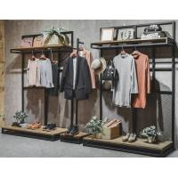 China Commercial Clothing Display Racks Hanging Iron Display Shelf 30*40*1.6mm on sale