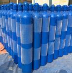 Quality Optional color 37Mn 3.4L - 14L Industrial Compressed Gas Cylinder 140mm diameter for sale