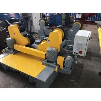 Quality Self - Aligning Pressure Vessel Pipe Welding Rollers With Motorized Travel for sale