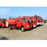 China Water Tanker Fire Fighting Truck For Fire Service With Water Pump And Fire Pump on sale
