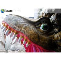 Quality Amusement Park  Dinosaur Cabin Movie Theater Equipments With 4 Seats for sale