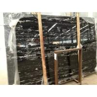 Silver Dragon Marble Slabs China Nero Portoro Marble Pattern Silver White Dragon Marble for sale