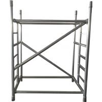 Lightweight Adjustable Galvanized Steel Scaffolding Of The Working Platform