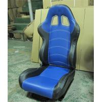 Quality JBR1027 fabric Sport Racing Seats With Adjuster / Slider Car Seats for sale