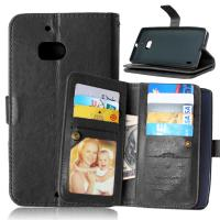 Microsoft Lumia 930 640 Wallet Case Retro Cover Bags Case Pouch 9 Cards Slot