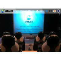Quality Installing 5D Cinema Equipment With Thrilling And Exciting Roller Coaster Movie for sale