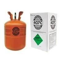 China R407C  Odorless 99.8% Purity Air Conditioning Refrigerants  for positive displacement on sale