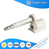 TX-BS301 Dezhou factory wholesale numbered Q235A steel red/white/yellow bolt seal for sale
