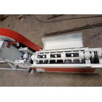 Buy cheap Smooth Incision Steel Wire Straightening Cutting Machine , Cold Wire Drawing Rebar Straightening Machine from wholesalers