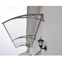 Quality Bayer Raw Material Polycarbonate window Awning Panels with UV Resistant for sale