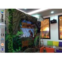 Buy Stimulating Thriller 6D Movie Theater With Lightning / Rain Digital Special Effect at wholesale prices