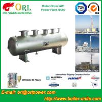 Buy High performance thermal oil boiler drum ORL Power ASME certification manufacturer at wholesale prices