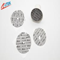 Quality Self-Adhesive Silicone 1mm T Thermal Gap Pad 45 Shore 00 TIF140-02S for LED Bulb Lights for sale