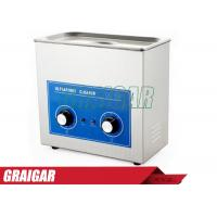 Quality Industrial Ultrasonic Cleaning Equipment Ultrasonic Cleaner 6.5L 40KHZ High Efficiency for sale
