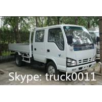 Quality ISUZU LHD twin cab mini cargo truck for sale for sale