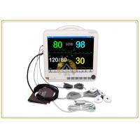 Quality Multi Parameter Icu Monitoring Machines, Adult 15 Inch Hospital Heart Monitor Machine for sale