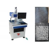 Quality Granite Stone Laser Engraving Machine / Machinery with High Temperature Painting for sale