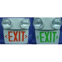 Buy cheap UL Led Exit sign with twin spotlights from wholesalers